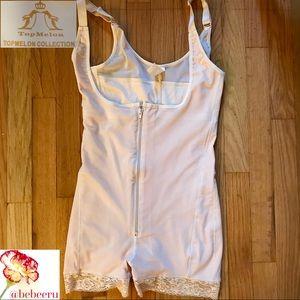 b1cfcda5a3 Top Melon Intimates   Sleepwear - Topmelon Open Bust Body Shaper - Size L -  Beige